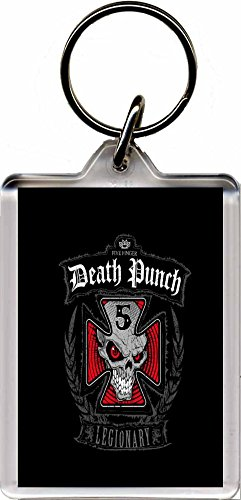 5FDP - Five Finger Death Punch Portachiavi E