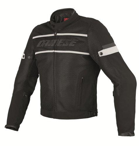 Dainese G. Air-Frame Tex Textile Motorradjacke, Schwarz/Weiss, 52
