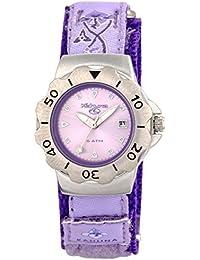 Kahuna Girls / Women's Purple Fabric/Nylon Strap Watch - AK009