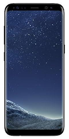 Samsung S8 64GB SIM-Free Smartphone - Midnight Black (SM-G950F)