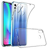 PaceBid Coque Huawei P Smart 2019, [Liquid Crystal] TPU Silicone Transparent Ultra-Fine, Coque Etui Housse Huawei P Smart 2019 - Crystal Clear