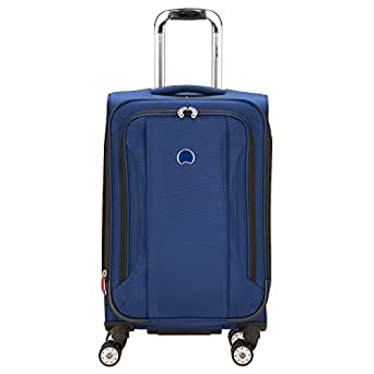 Delsey Luggage Helium Aero 21 4 Wheel Exp Carry on Lug, Cobalt