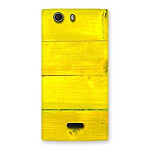 Yellow Wood Backyard Back Case Cover for Canvas Nitro 2 E311