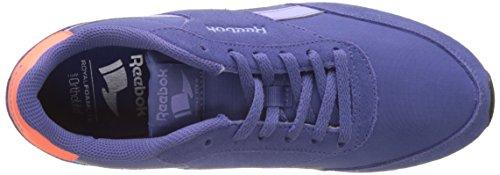 Reebok Royal Classic Jogger 2, Sneaker Donna Viola (Lilac Shadow/lilac Glow/gua Punch/white/black)