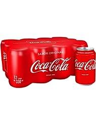 Coca-Cola - Regular, Refresco con gas de cola, 330 ml (Pack