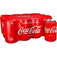 Coca Cola Refresco - 12 Latas x 33 cl