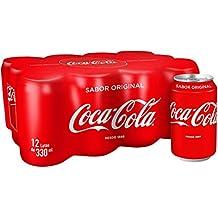 Coca-Cola - Lata 330 ml (Pack de 12) - [pack de