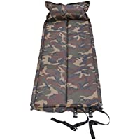Qisan Holiday Self Inflating Camping Mat Sleeping Mat with Pillow Portable Sleeping Pad/Mattress for Tent in Camping Hiking and Outdoor Activities