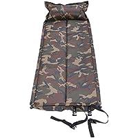 Vacanze scontate del 20% Qisan Materassino da campeggio autogonfiante materassino con cuscino portatile tenda materassino/materassino in campeggio, escursionismo, attività all' aperto
