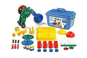 Miniland- Junior Engineer Gears (62 Piezas) Maletín de Ingeniero de Juguete (95003)