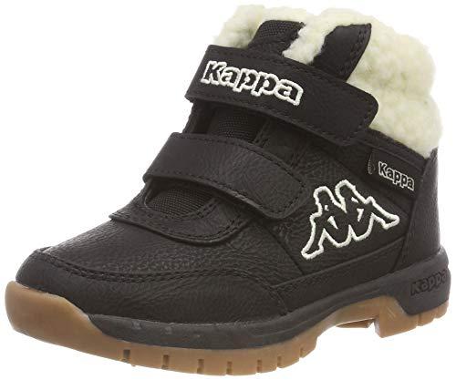 Kappa Unisex-Kinder Bright Mid Fur Kurzschaft Stiefel, Schwarz (Black/Offwhite 1143), 26 EU