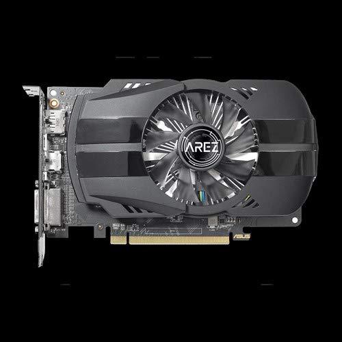 ASUS AREZ-PH-RX550-4G-M7 Gaming Grafikkarte (AMD, 4GB DDR5, DVI, HDMI, DisplayPort, Auto-Extreme-Technologie)