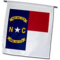 Bandiera del North Carolina Ncus American stati uniti d' America Usared bianco Bluegreat Seal 30,5 x 45,7 cm, decorativo double Sided Garden Flag