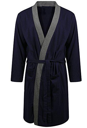 mens-dressing-gown-lighweight-cotton-rich-jersey-summer-medium-blue-with-contract-edge