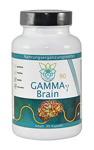 VITARAGNA Gamma Brain 90 Kapseln, 100% vegan, Premium Gehirn-Booster, Brain Booster -