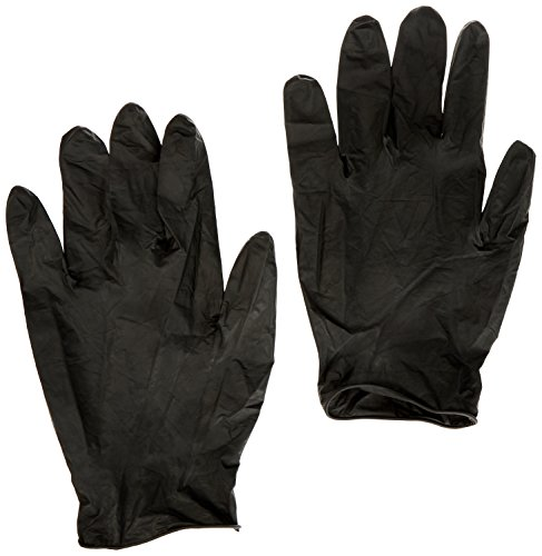 Goldwell Lot de 3 packs de 50 gants de coloration Noir Taille XL