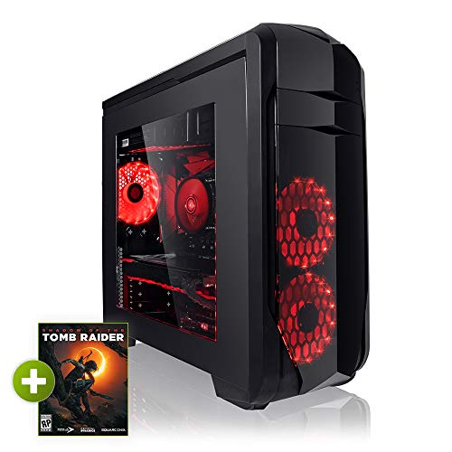 Megaport PC Gamer Premium Intel Core i7-8700 6x 4,60 Ghz Turbo • Nvidia GeForce GTX1060 6Go • 16Go DDR4 • 1To • Windows 10 • WiFi Unité centrale ordinateur de bureau PC gaming PC pas cher ordinateur gamer