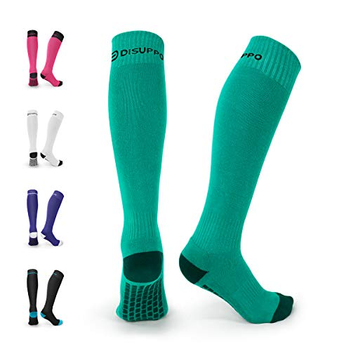 Disuppo calze da calcio, calze a compressione per uomo e donna, il miglior equipaggiamento per la corsa, infermieri, sindromi tibiali, viaggi, gravidanza, circolazione e il recupero