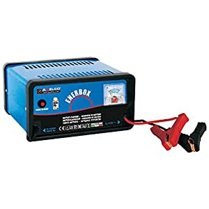 Awelco caricabatteria alimentatore 12V con morsetti per auto moto max 50Ah 71050