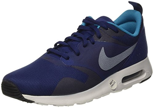 Nike Air Max Tavas, Baskets Basses Homme Bleu (Loyal Blue/White Bl Lagoon Blk)
