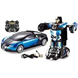FIZZYTECH Converting Car To Robot Transformer With Remot Controller For Kids (red, Blue Colour Only Send Custumer)