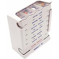 Arzneikassette, Pillendose Wochendispenser mit Ausziehbares Boxen–7Stück preisvergleich bei billige-tabletten.eu