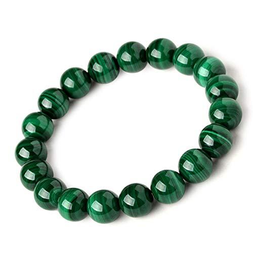 Bracciale perline j.fée bracciale elastico 8mm gemme naturali bracciale pietra guaritrice perline bracciale uomo bracciale donna 4a malachite bracciale regalo anniversario di compleanno il suo la sua