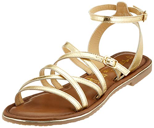 Tamaris Damen 1-1-28173-32 Römersandalen, (Light Gold 909), 40 EU
