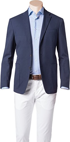 Polo Ralph Lauren Herren Sakko Anzugjacke, Größe: 42, Farbe: Blau (Herren Anzüge Lauren)