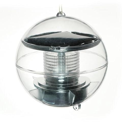 boule flottant solaire étang LED lampe de jardin bassin color