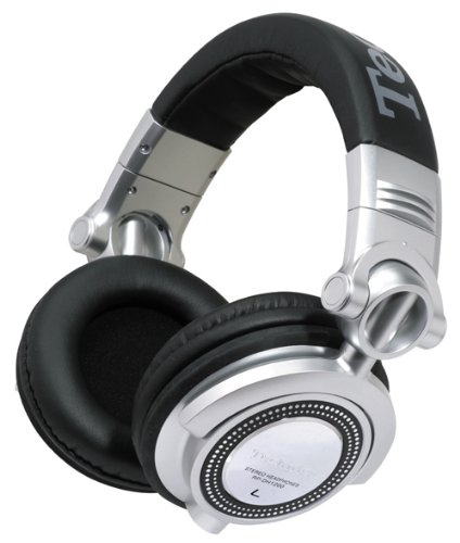 Panasonic RP-DH1250E-S Black,Silver Circumaural Head-band headphone - headphones (Circumaural, Head-band, 5 - 30000 Hz, 3500 mW, 107 dB, 50 Ω)