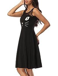 Suchergebnis Auf Amazonde Für Katzen Schwarz Kleider Damen