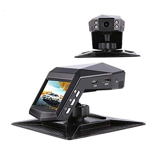 Dash Cam, Auto-Kamera-Dual-Objektiv/Single-Objektiv Full HD 1296P, HD-Nachtsicht, 170 ° Großer Weitwinkel, WDR, G-Sensor, Loop-Aufnahme, Enthält 32G-Speicherkarte, Parfüm-Recorder,Singlevideo