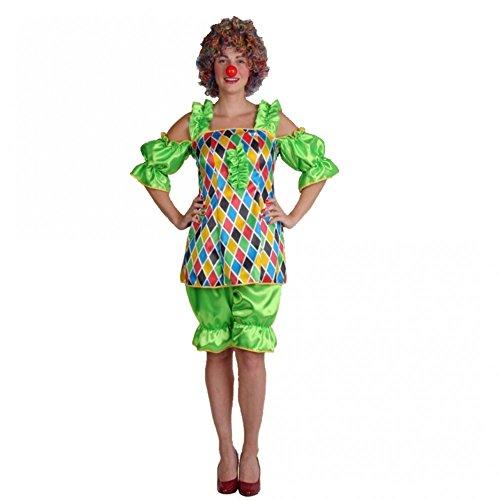 etty Gr. M (42) Oberteil bunt Hose grün Fasching Karneval Zirkus (Günstige Zirkus Kostüme)