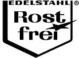 WENKO 2045030500 Küchen-Eckregal Massivo Duo mit 2 Ablagen, Edelstahl rostfrei, 48.5 x 31 x 48.5 cm, Silber Vergleich