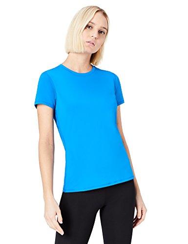 FIND Top de Sport Dos en Maille Femme Bleu (Imperial Blue)