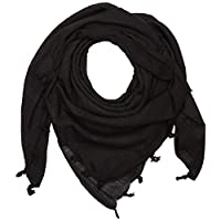 Mil-Tec Scarf-Shemagh, 110x 110cm, Colour: Black