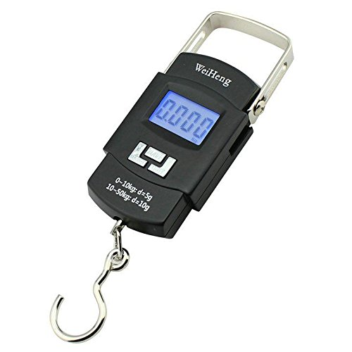 50Kg Portable Electronic Digital Lcd Screen Scale For Travel Luggage...