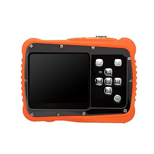 TwoCC Kindersportkamera 12Mp 2.0Tft Wasserdichte Digitale Videokamera Kindervideorecorder(Orange)