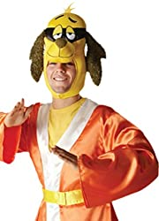 erdbeerloft–men carnival Hong Kong Pfui Dog Costume, M–XL Orange