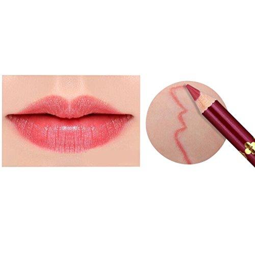 Professionelle Lip Liner (Zerama Matte Frauen Professionelle Lip Liner Bleistift-Wasserdichte Longwear Lip Liner 12 Farbe)