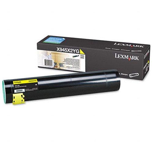 Preisvergleich Produktbild Lexmark X945X2YG X940e, X945e Tonerkartusche 22.000 Seiten, gelb