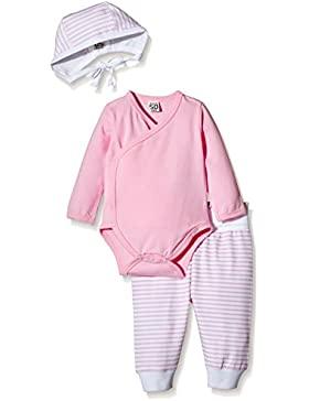 Care Baby-Mädchen Bekleidungsset Bio Baumwolle 3tlg.