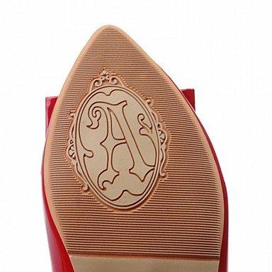 Confortevole ed elegante piatto scarpe donna tacchi Primavera Estate Autunno Comfort piattaforma Novità brevetto Similpelle Cuoio Ufficio Matrimoni & Carriera Party & abito da sera Casual White