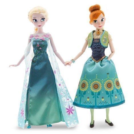 Frozen Fever - Anna und Elsa Puppenset