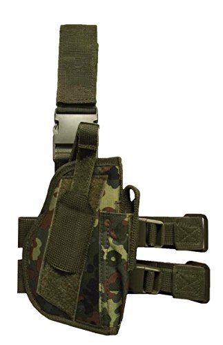 AR TACTICAL GMBH  Pistolenbeinholster Tiefziehholster Beinholster -Gürtelbefestigung (Flecktarn) -