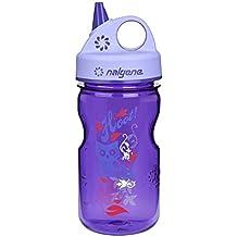 Nalgene botella de agua Grip-N-Gulp (púrpura, de 12 ...