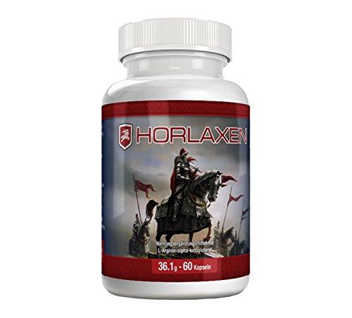 Horlaxen - Muskelwachstums-Pille für effektiven Muskelaufbau und Fettabbau (1 Flasche) (1)
