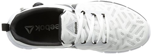 Reebok Zpump Fusion, Chaussures de Sport Homme white-skull grey-black-coal-silver met