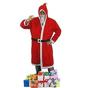 weihnachtsmann kost m nikolausset nikolaus set mantel 3. Black Bedroom Furniture Sets. Home Design Ideas